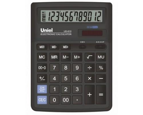 Калькулятор UD-610 UNIEL 12 разрядов