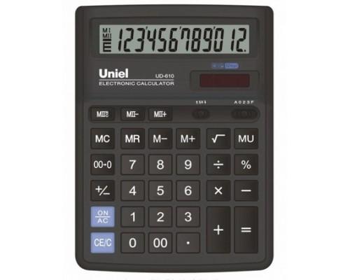 Калькулятор UF-610 UNIEL 12 разрядов