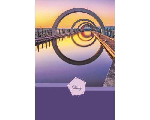 Ежедневник (недатированный) А5 112 листов Современная архитектура