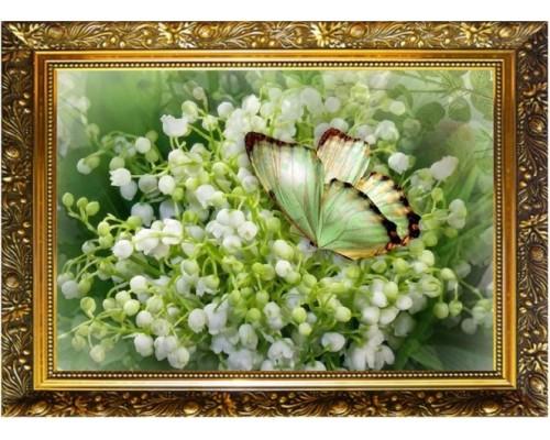 Алмазная мозаика 29,5*20,5 см Весенняя радость