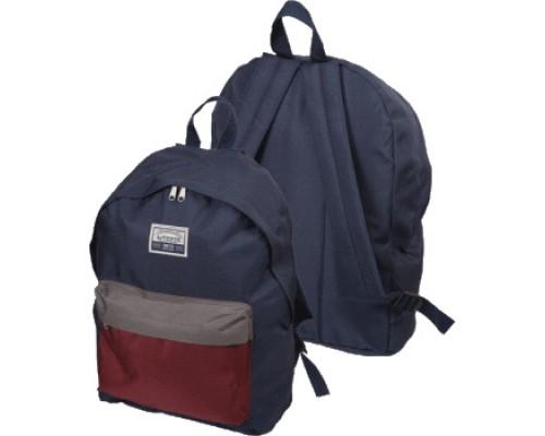 Рюкзак 3-Tone Blue для девочки, старшая школа