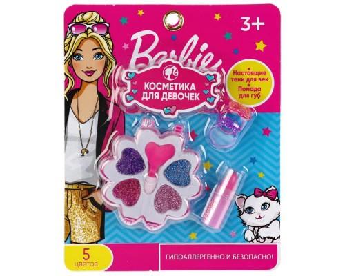 Косметика для девочек Барби тени, помада, аксесс. на карт. МИЛАЯ ЛЕДИ в кор.